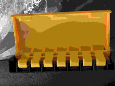 Verbindungsschelle aus Kunststoff für 1007 - Mobiler Workshop 4-in-1